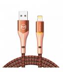 McDodo CA-7842-Magnificence Lightning-kabel, 2.4A, 1.2m, orange