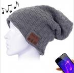 Mössa med Bluetooth-headset, grå