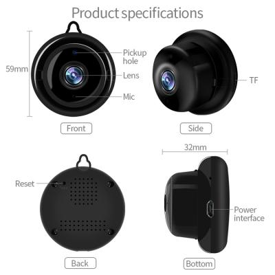 Multifunktionell Trådlös IP‑kamera med molnlagring, WiFi, 5W