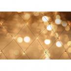 Nordic Home LED ljusnät för utomhusbruk, varmvit, 120x150 cm