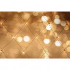 Nordic Home LED ljusnät för utomhusbruk, varmvitt, 3x2m