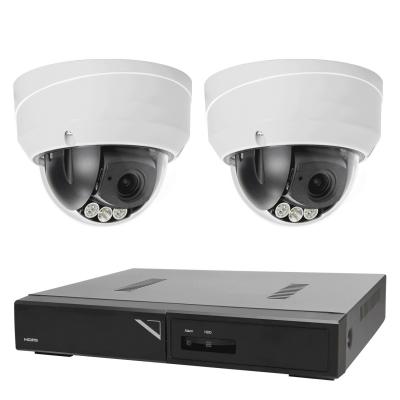 Övervakningspaket i 4K dome inom‑ och utomhus, 2 kameror