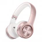 PICUN B26 Trådlösa Over Ear-hörlurar, Bluetooth 5.0, rosa