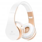 PICUN Bluetooth 4.2 headset med mikrofon, vit