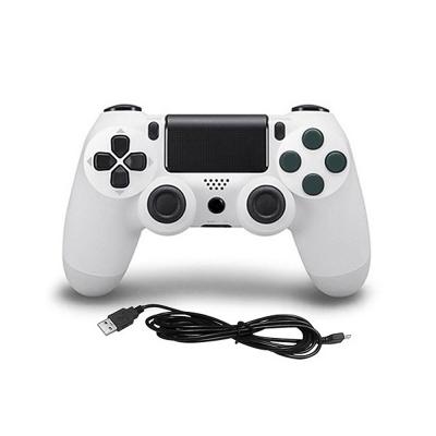 PS4 DoubleShock 4 handkontroll med kabel, vit