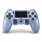 PS4 DualShock 4 Bluetooth trådlös handkontroll, titanium blue