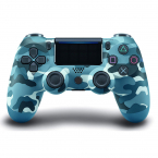 PS4 DualShock 4 Bluetooth trådlös handkontroll, camo blå