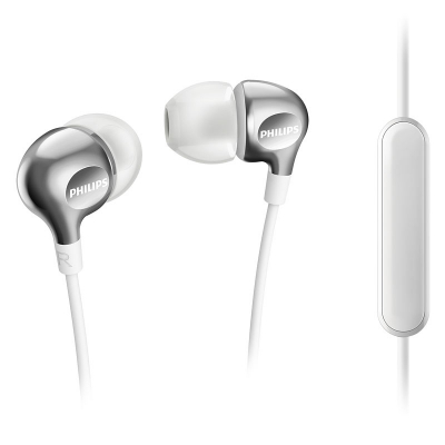 Philips Vibes SHE3705 headset 3.5mm, vit