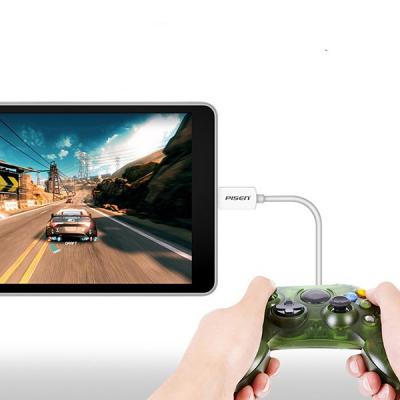 Pisen OTG USB Plug till Micro‑USB, 15cm, Macbook Google