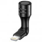Bärbar Lightning mini-mikrofon till Apple-enheter, 0.5mA