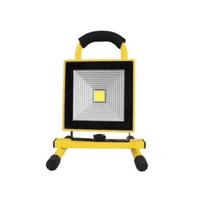 LED Arbetslampa med batteri, 30W, 6000K