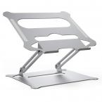 Vikbart aluminiumställ för laptops, 10-17.3 tum