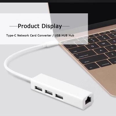 S‑1382 USB‑hubb med 3xUSB2.0+RJ45 (100Mbit LAN), 5Gbps