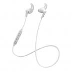 STREETZ Bluetooth Stay-in-ear Headset, Bluetooth 5, vit