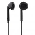 STREETZ Semi-In-Ear hörlurar med mikrofon, 3.5 mm, svart