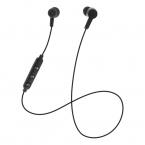 STREETZ Trådlösa In Ear-hörlurar med mikrofon, svart