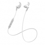 STREETZ Trådlösa Stay-In-Ear hörlurar med mikrofon, vit