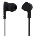 STREETZ Trasselfria In Ear-hörlurar med mikrofon, 3.5 mm, svart