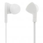STREETZ Trasselfria In Ear-hörlurar med mikrofon, 3.5 mm, vit