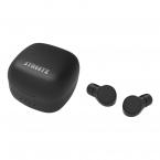 STREETZ TWS trådlösa In Ear-hörlurar, Bluetooth 5, svart
