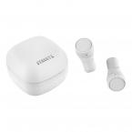 STREETZ TWS trådlösa In Ear-hörlurar, Bluetooth 5, vit