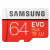 Samsung EVO Plus microSDXC 100MB/s med SD-adapter, 64GB