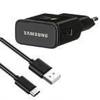 Samsung original snabbladdare EP-TA200 + EP-DG970BBE USB-C kabel