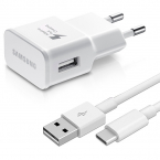 Samsung originalladdare EP-TA20EWE + EP-DN930CWE USB-C kabel