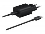 Laddare TA-800 + USB-C kabel för Samsung, snabbladdning