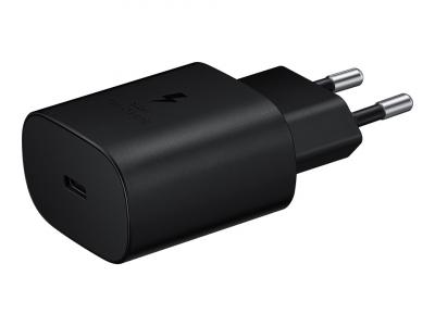 Samsung originalladdare Fast Charging TA‑800 + USB‑C kabel svart