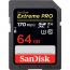 64GB SanDisk Extreme Pro SDXC 170MB/s