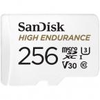 256GB SanDisk High Endurance MicroSDXC 100MB/s