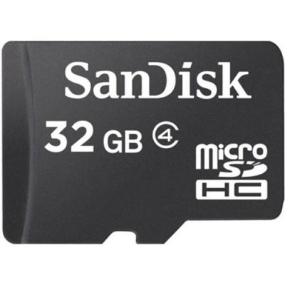 32GB SanDisk MicroSDHC Klass 4
