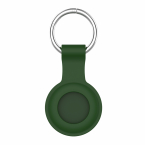 Silikonhållare till Airtags, olivgrön