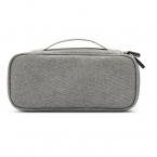 Multifunktionell väska i slitstarkt tyg, grå