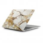 """Marmorerat skal till MacBook Pro 15.4"""" (A1707), guld"""