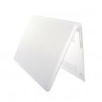 Genomskinligt skal till MacBook Air 13, vit