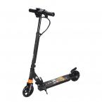 Elscooter med LED-ljus 180W, svart