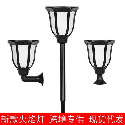 Streetlight, LED‑Lampa med solceller för utomhusbruk