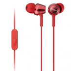 Sony MDR-EX250AP In-ear hörlurar med mic, röd