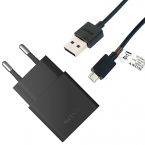 Sony UCH10+EC803 original laddare+MicroUSB-kabel, QuickCharge