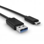 Sony UCB30 original USB-C kabel 1m, svart