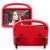 Barnfodral med ställ till Samsung Tab A 10.1 T510/515, röd