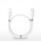 SuperCalla Magnetisk USB-C till Lightning kabel, 2A, 1.8m, vit