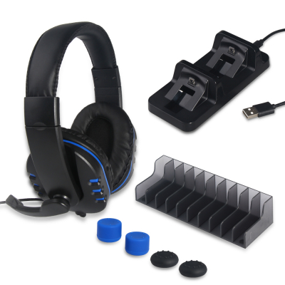DOBE TP4‑18101 5‑i‑1 spelkit till PS4 med headset