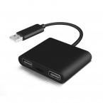 Tangentbord- och musadapter för Switch/XBox One/PS4, svart