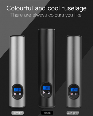 Trådlös automatisk luftpump, 12V, 150 PSI/10bar