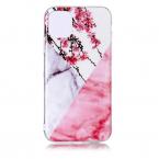 Vackert TPU-skal med marmormönster till iPhone 11 Pro, rosa