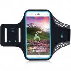 """Universalt Sportarmband med touch till smartphone 5.1-5.8"""" svart"""