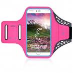 "Universalt Sportarmband med touch till smartphone 5.1-5.8"", rosa"